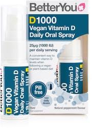 BetterYou Dlux 1000 Vegan Vitamin D Oral Spray 15ml
