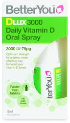 BetterYou Dlux 3000 Vitamin D Oral Spray 15ml