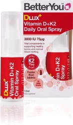 BetterYou Dlux+ Vitamin D + K2 Oral Spray 12ml