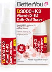 BetterYou Dlux Vitamin D + K2 Oral Spray 12ml
