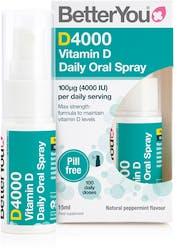 BetterYou Dlux4000 Vitamin D Oral Spray 15ml