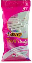 Bic Twin Lady Disposable Razor 5's