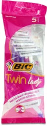 Bic Twin Lady Disposable Razor 5's