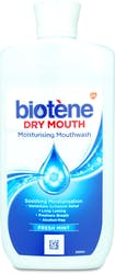 Biotene Moisturising Mouthwash Fresh Mint 500ML