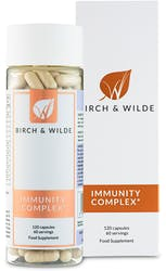 Birch & Wilde Immunity Complex 60 Day Supply 120 Capsules