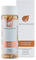 Birch & Wilde Vitamin B Complex 60/120 Day Supply 120 Capsules