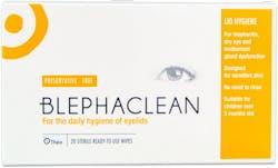 Blephaclean Eyelid Wipes 20's