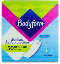 Bodyform Daily Liners Classic 50s