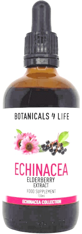 Buy Botanicals 4 Life Echinacea & Elderberry Extract 100ml ...