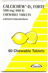 Calcichew D3 Forte 60 Chewable Tablets