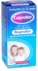 Calprofen 3+ Months Strawberry 100ml