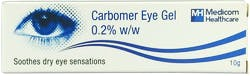 Carbomer Eye Gel 0.2% 10g