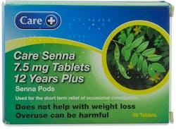 Care Senna 7.5mg 60 tablets