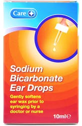 Care Sodium Bicarbonate Ear Drops 10ml