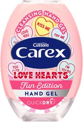 Carex Hand Gel Love Hearts 50ml