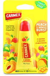 Carmex Moisturising Lip Balm Peach and Mango SPF 15 10g