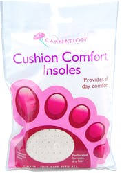 Carnation Cushion Comfort Insoles 1 pair
