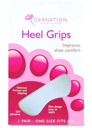 Carnation Heel Grips 1Pair