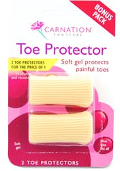 Carnation Toe Protector 2 Pack
