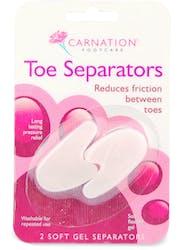 Carnation Toe Seperators 2 Pack