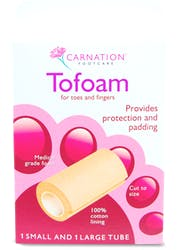 Carnation Tofoam 1 Small and 1 Large Tube