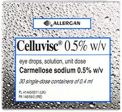 Celluvisc Eye Drops 0.5% x/v Unite Dose 30x0.4ml