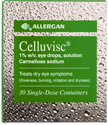 Celluvisc Eye Drops 1% w/v Unite Dose 30s'