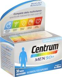 Centrum Men 50+ 30 Tablets