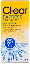 Cl-ear Express Ear Drops 12ml
