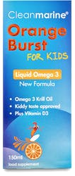 Cleanmarine For Kids Orange Burst Liquid Omega 3 150ml