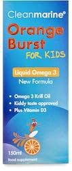Cleanmarine For Kids Orange Burst Liquid Omega 3 150ml
