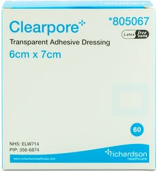 Clearpore Adhesive Dressing 60s