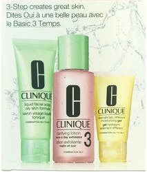 Clinique 3-Step Introduction Kit Skin Type 3 3Pc