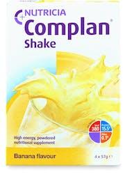 Complan Shake Banana Flavour 4x57g