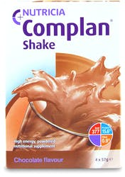Complan Shake Chocolate Flavour 4x57g