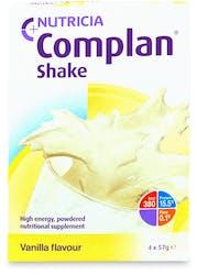 Complan Shake Vanilla Flavour 4x57g