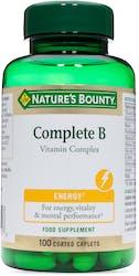 Nature's Bounty Complete B Vitamin Complex 100 Caplets