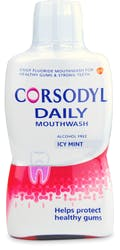 Corsodyl Daily Icy Mint Mouthwash 500ml
