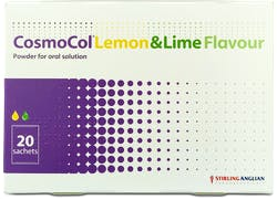 Cosmocol Lemon and Lime 20 Sachets