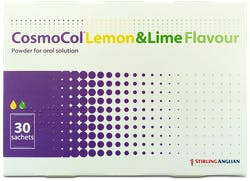 Cosmocol Lemon and Lime 30 Sachets