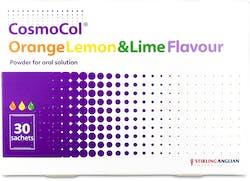 Cosmocol Orange Lemon and Lime 30 Sachets