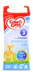 Cow & Gate 3 Growing Up Milk from 1-2 Years 200ml