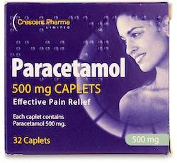 Crescent Pharma Paracetamol 500mg 32 Caplets