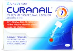 Curanail 5% Medicated Nail Lacquer 3ml