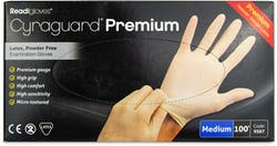 Cyraguard Premium Gloves Medium 100 s'
