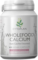 Cytoplan Calcium Wholefood 200mg elemental 60 Capsules