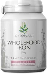 Cytoplan Iron Wholefood 5mg elemental 60 Capsules