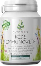 Cytoplan Kid's Immunovite 60 vegan Capsules