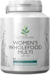 Cytoplan Women's Wholefood Multi with iron 60 Capsules