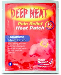 Deep Heat Patch 1s